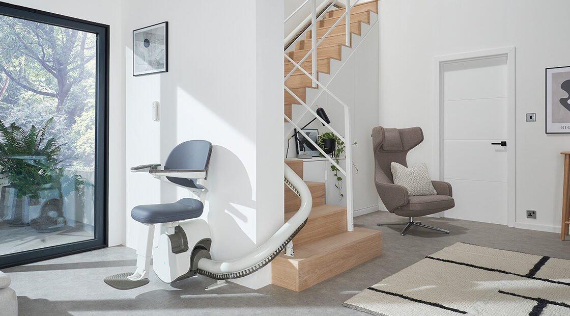 Krzesło przyschodowe Lifts4U