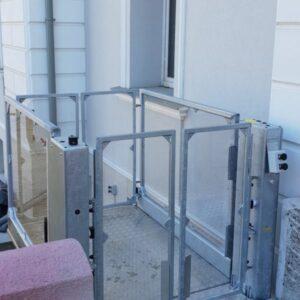 Winda dla niepełnosprawnych do balkonu