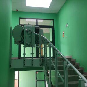 Montaż platformy schodowej