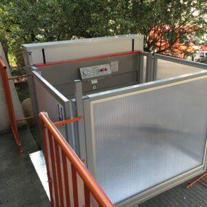 Mała winda dla niepełnosprawnych
